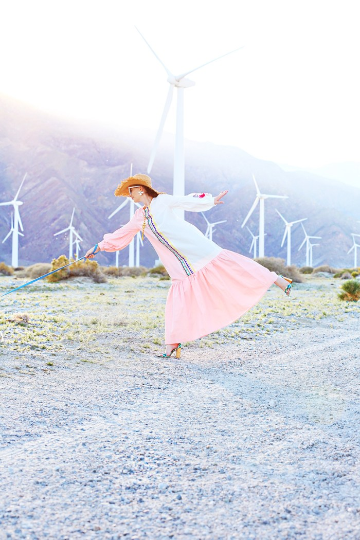 Affordable Pink Maxi Dress | Kelly Golightly