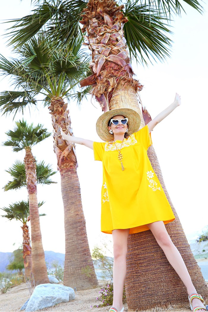 Yellow Kaftan | Kelly Golightly