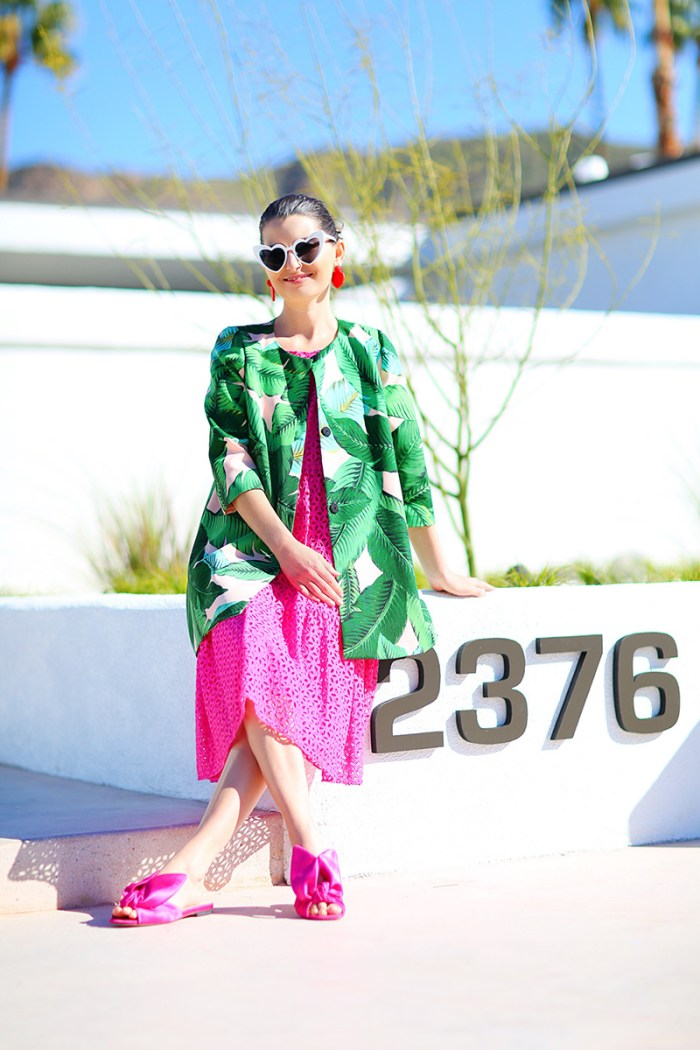 Banana Leaf Coat | Kelly Golightly