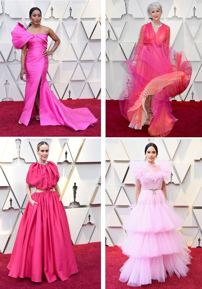 The Best Pink Dresses at the Oscars 2019   Kelly Golightly