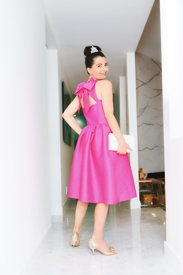 Audrey Pink Dress | Kelly Golightly