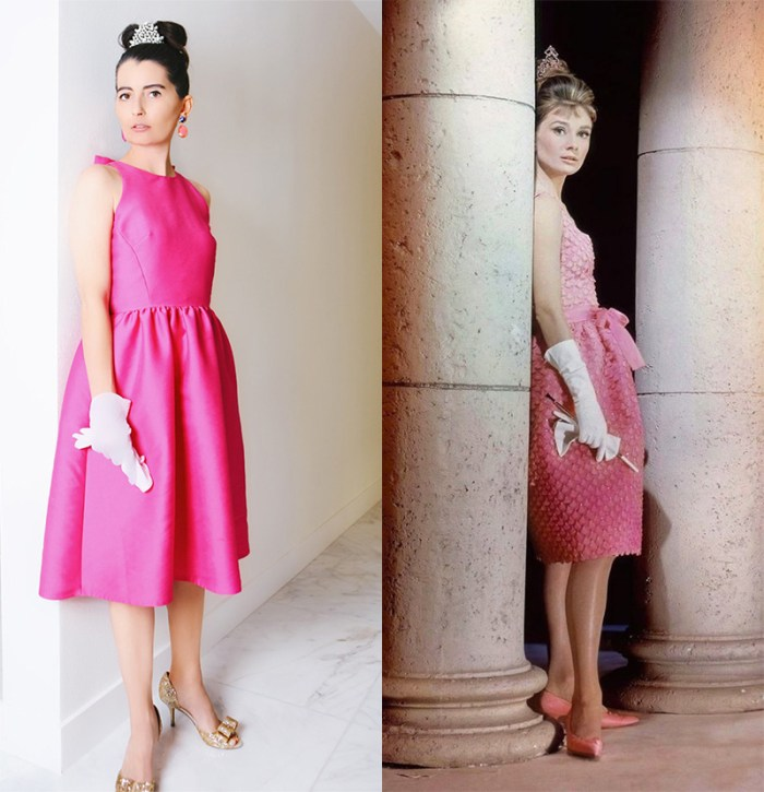 Breakfast at Tiffany's Pink Dress | Kelly Golightly