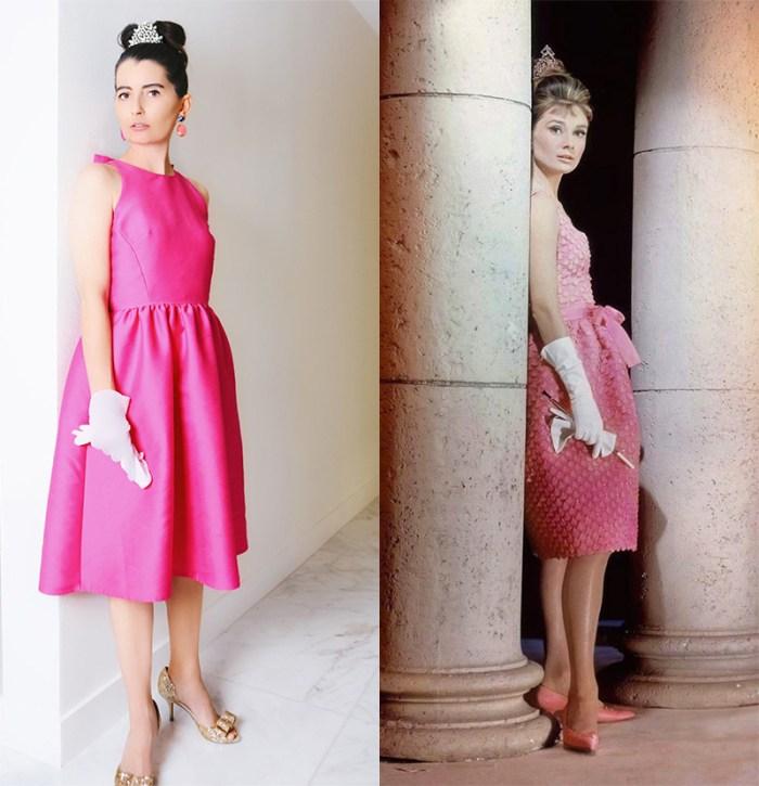 Breakfast at Tiffany's Pink Dress | Kelly Golightly