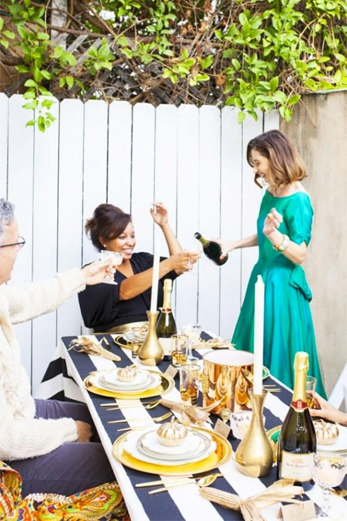 Friendsgiving with Kelly Golightly + Kristen Turner