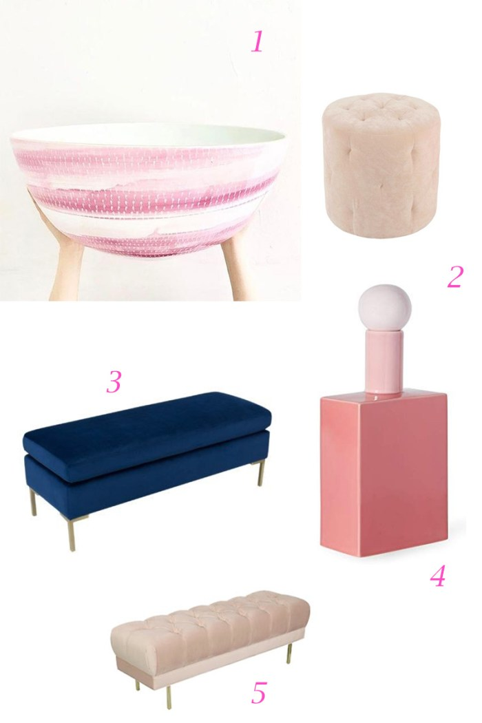 Modern Pink Accessories