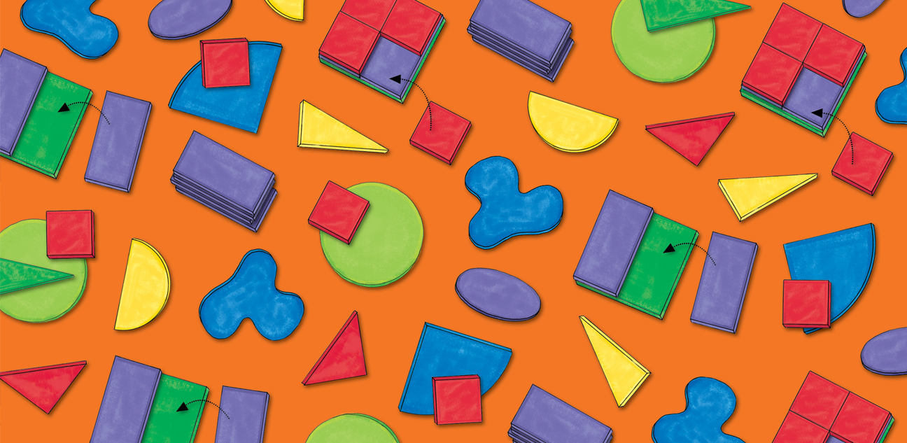 Mix & Make Shapes Pattern