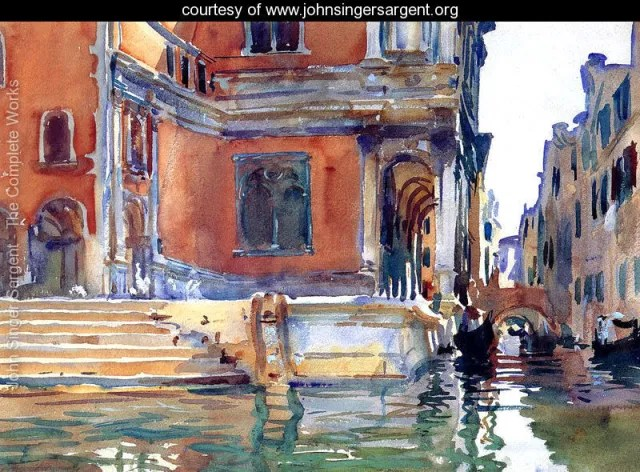 Sargent Painting