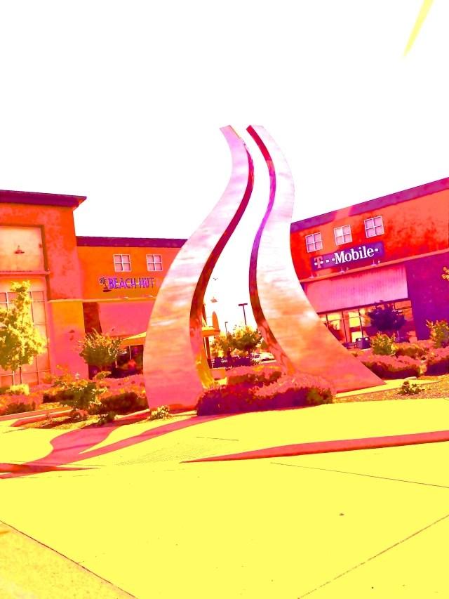 sculpture near Ikea Sacramento, CA