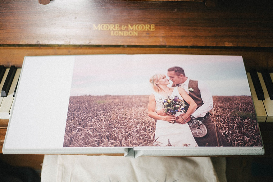 Wedding Album - Somerset wedding photographer