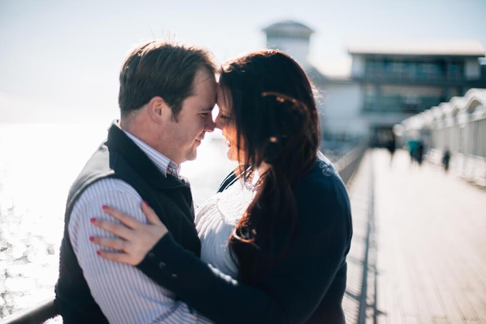 Weston-Super-Mare Pre-Wedding Shoot