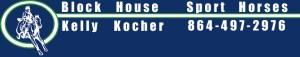 Kelly Kocher Block House Sport Horses