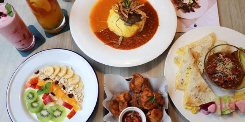 【台中北區】做咖啡2.0『Hecho做咖啡 Lite&Deli』好美的店~~~早午餐/輕食/主廚飯食/甜點/水果沙拉,都不錯會回訪!