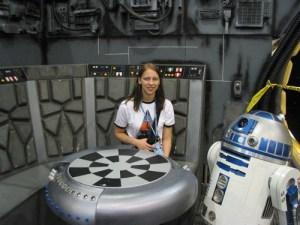 Millenium Falcon replica, R2-D2