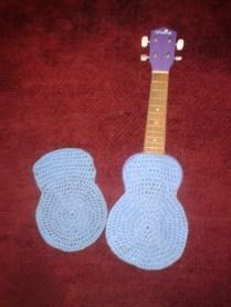 crocheting how to wool ukulele case