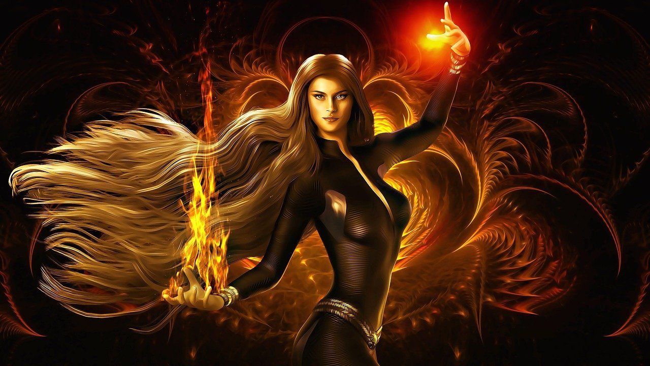 woman-goddess-fire