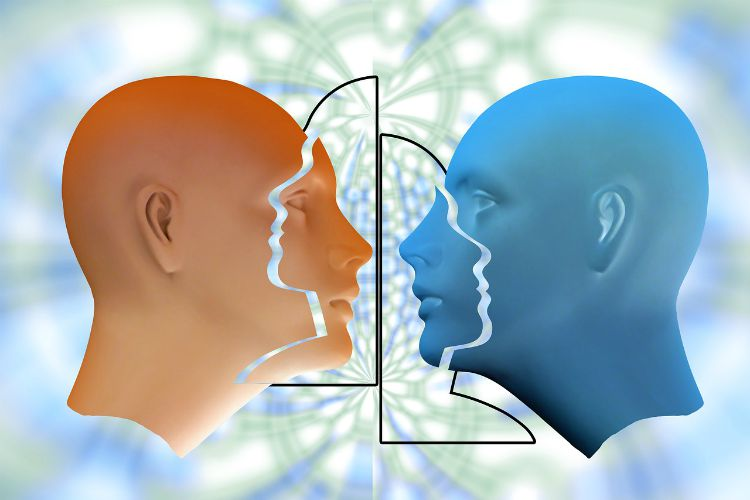 human perception reacting versus responding