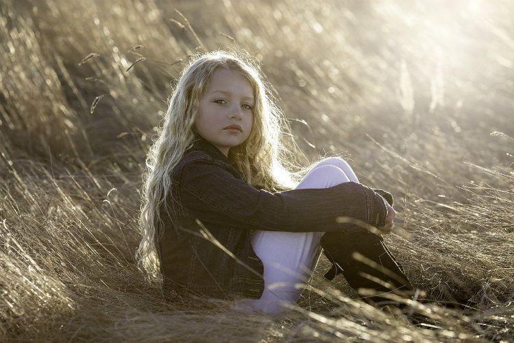 inner child sitting