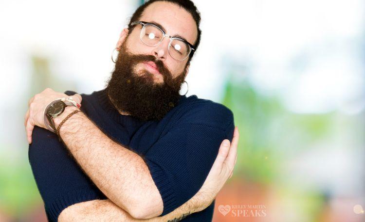 man-self-hug-happy