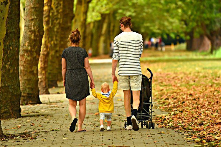 woman man family