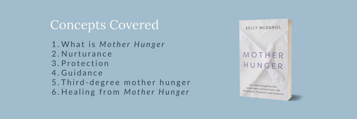 Mother Hunger topics covered