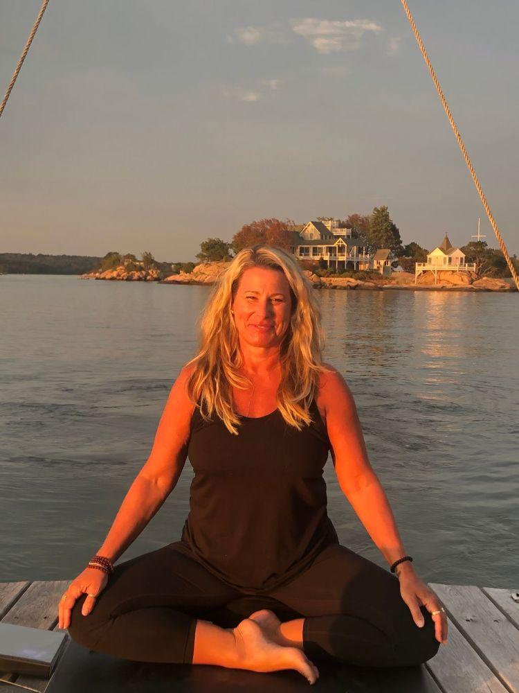 Kelly McGuire Yoga Meditation