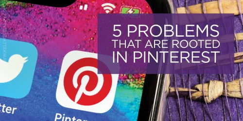Graphic 5 problems pinterest