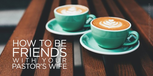 Graphic friends pastors wife