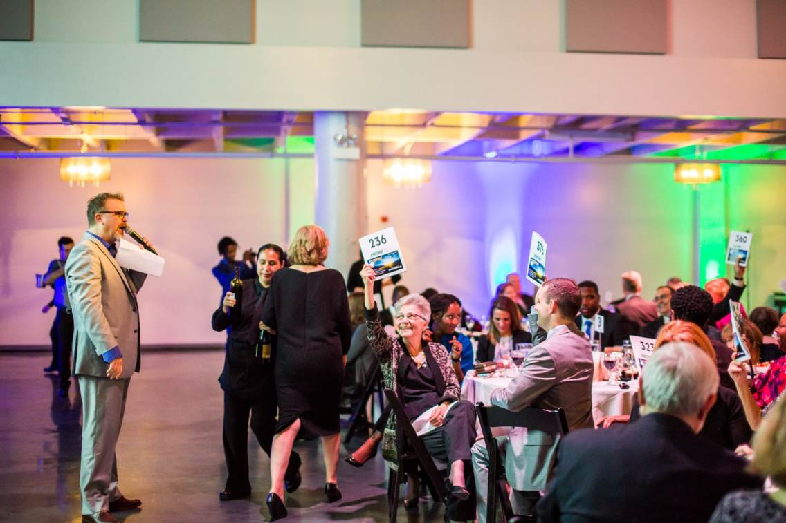 2016 Streetwise Gala live auction