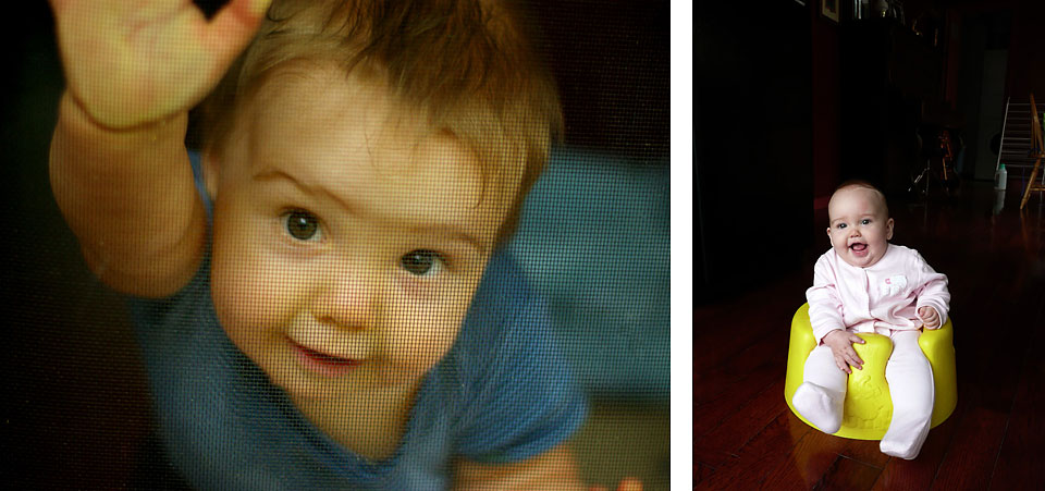 Play with light when photographing your kids