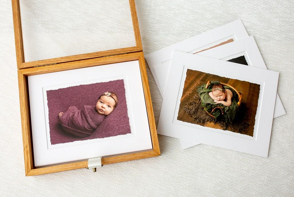 High end newborn photography prints
