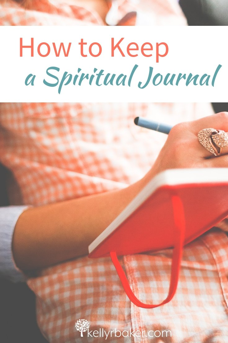 In this post I share how and why to keep a spiritual journal. I give practical examples and share some fun journal options. #ThrivingInChrist #journal #journaling #DailyTime #GodTime #quiettime #Christian #bibletime