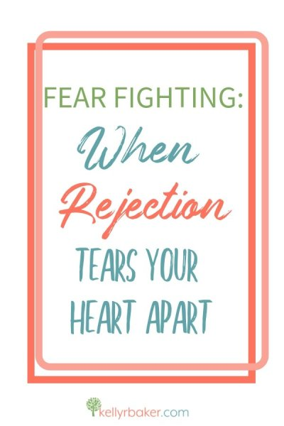 What might we accomplish by responding to rejection—in a different way? Join Kelly on the journey to go and grow with Christ's bravery in Fear Fighting. #ThrivingInChrist #rejection #hurt #pain #relationships #fearfighting #book #spiritualgrowth