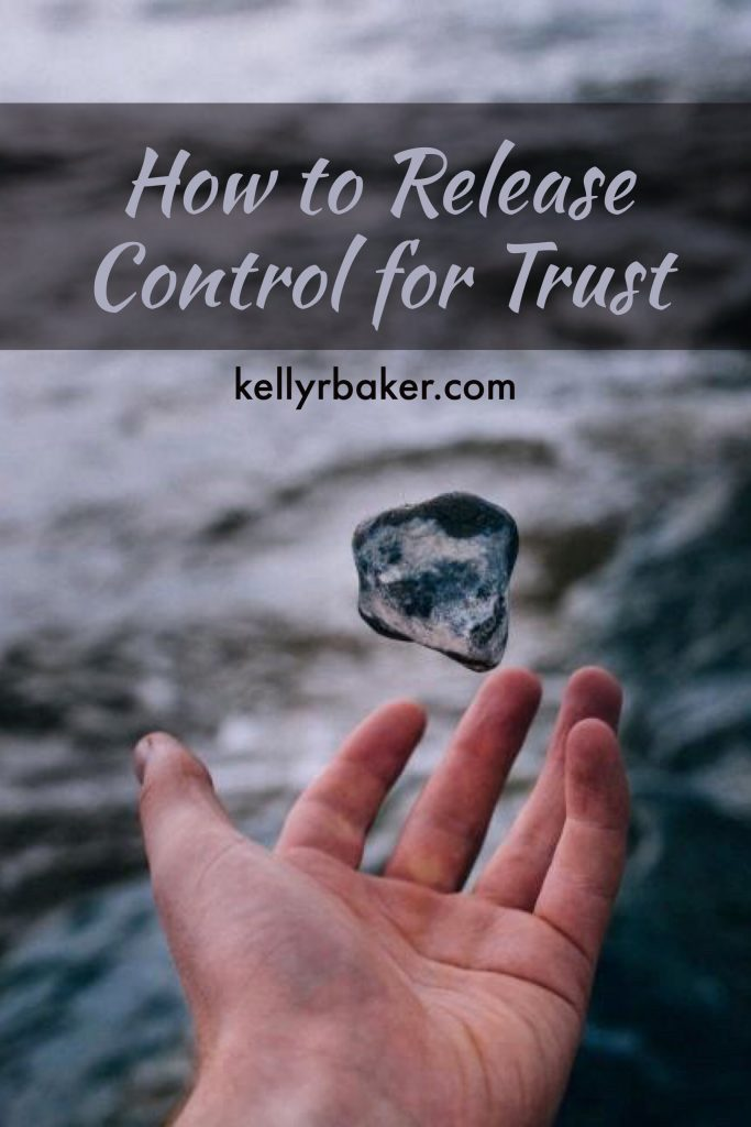 How to Release Control for Trust | How to trust God | Printable | Worksheet | Giving plans to God | God's timing