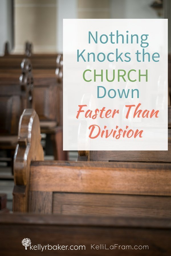 Jesus is building His church, but the devil comes with division to knock it down. A story of how I learned to not argue over methods in ministry. #church #ministry #kidmin #methods #leadership #spiritualgrowth #thrive #God #division #reconciliation #unity