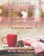 Front cover Blessed Transgressions magazine