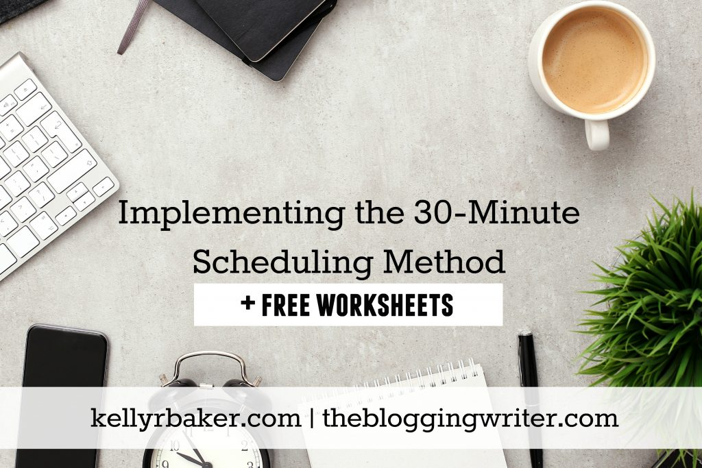 Living with an ongoing cycle of wasted hours that cripples your calling? Implement the 30-Minute Scheduling Method into your day.
