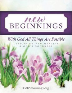 New Beginnings book by HelloMornings Amazon Author Kelly R Baker