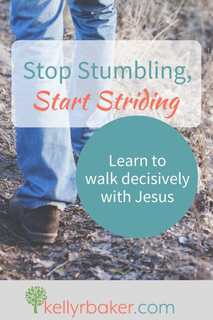 Obedience causes me to link arms with Jesus and walk in stride with Him. Disobedience causes my steps to be off sync. Learn to walk decisively with Jesus.