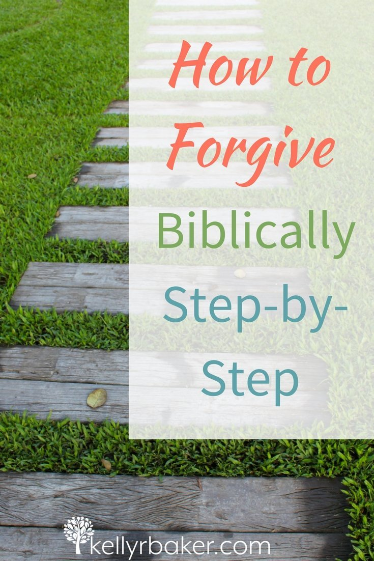 We know we need to forgive, but do we know how to forgive completely? The enemy wants us to move from hurt to offended. We need to know how to forgive according to the Bible. Here's why that's important and how it helps us heal. #thrive #biblicaltruths #spiritualgrowth #forgive #relationships #hurt #brokenheart
