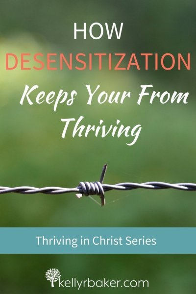 We need to be aware of the dangers of the devil's subtle strategy of desensitization, a devious enemy that dulls our spiritual senses. #thrive #ThrivingInChrist #SpiritualGrowth #Desensitization #BiblicalTruths #Movies