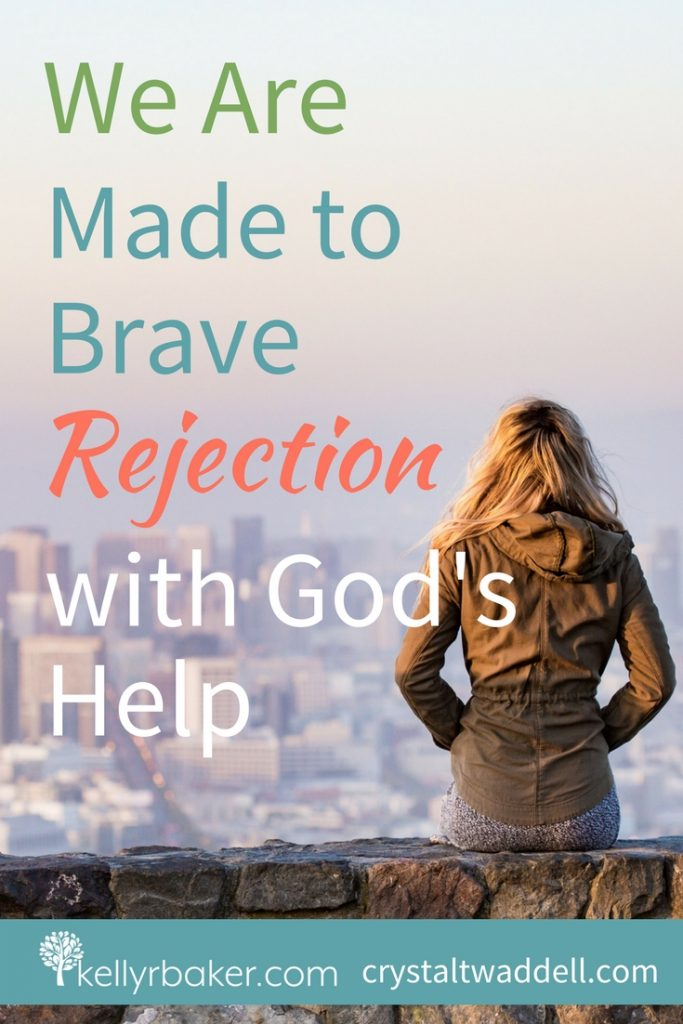We are made to brave rejection. In this post, I'm sharing part of my story I've never shared before of a scar from my childhood. We'll have our pits of rejection, but we don't have to live with the hurt. I'm living proof. #ThrivingInChrist #madetobrave #rejection #hurt #scars #childhood #hurts
