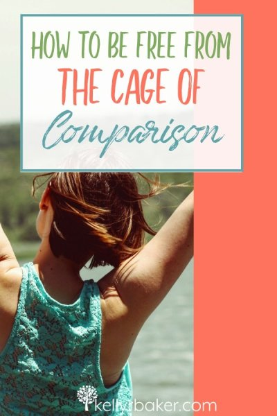 Do you feel locked in the cage of comparison? Learn what the key is to be free. It may not be what you think! #ThrivinginChrist #BloggerVoicesNetwork #comparison #envy #calling #spiritualgrowth