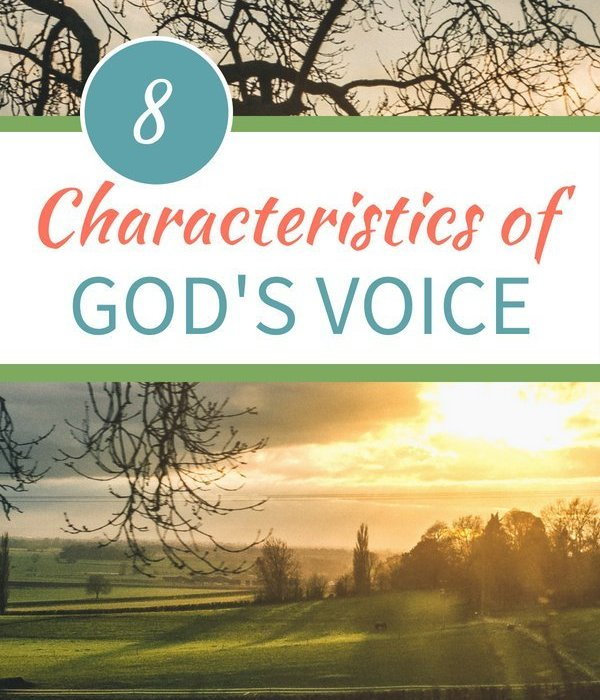 8 Characteristics of God's Voice