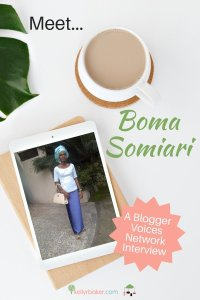 BVN Member Interview: Meet Boma Somiari