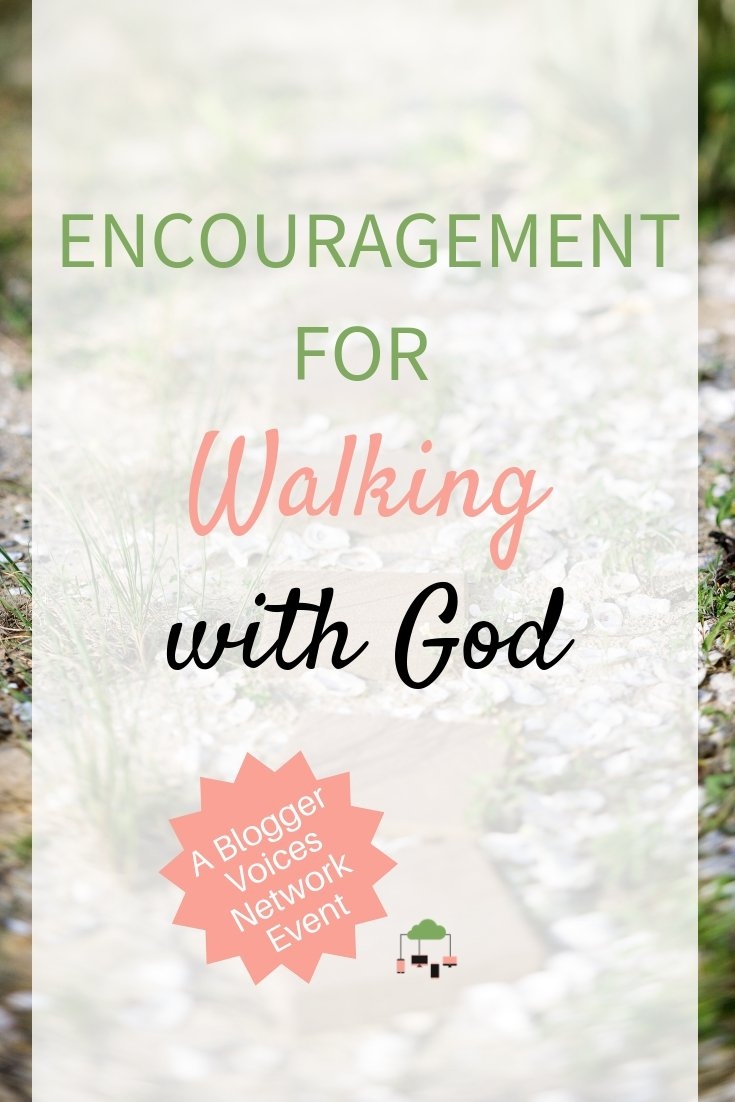 Need some encouragement? 15 writers from the Blogger Voices Network is coming together to bring you the Walking with God Online Event to help strengthen your faith. This #GodlyAdventure includes free gifts, biblical content, and giveaways. #BloggerVoicesNetwork #walkingwithGod #Bible #Christian #faith #ThrivingInChrist #OnlineEvent #strength #GodTime #Biblestudy #devotional #blogger #giveaway