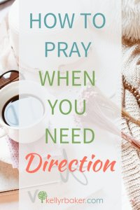 God will lead you in the right way when you need direction. Remember His promises and pray these verses when you're faced with making a decision. #ThrivingInChrist #direction #prayer #decisions #choices #crossroad #Godswill #Bible #verses #spiritualgrowth #biblicaltruth