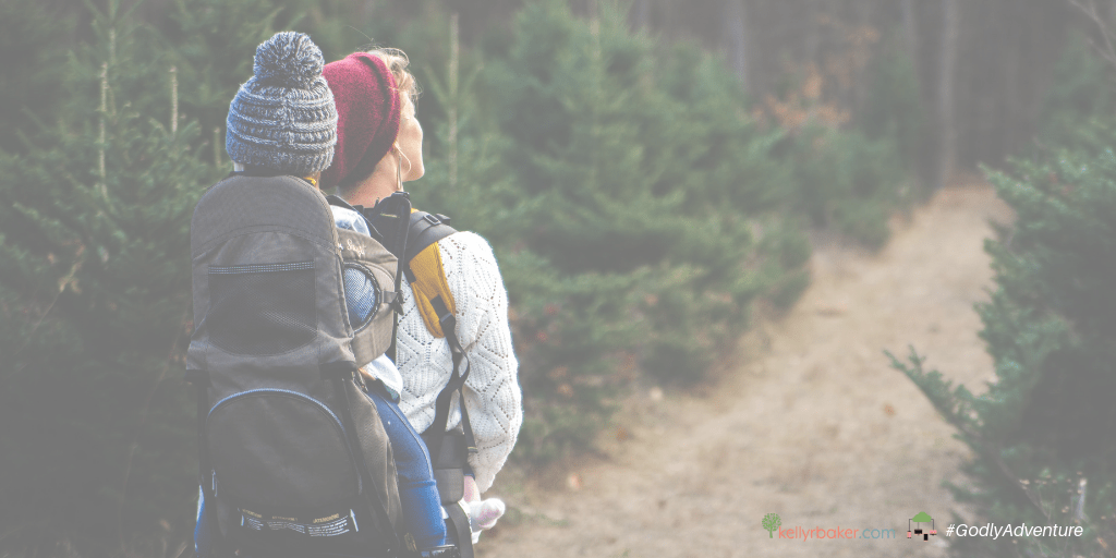 Isn't parenting hard sometimes? But we have the good good Father as our guide. Here's some encouragement for walking with God when parenting is tough.