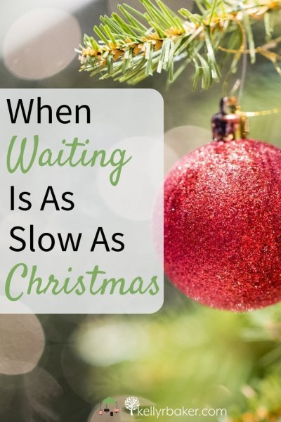 What helps when waiting is as slow as Christmas and I feel stuck, is remembering that God is in charge of pairing my lessons to my releasing. #ThrivingInChrist #waiting #spiritualgrowth #desires #timing #dreams #biblicaltruth #growingspiritually #maturinginchrist #Christmas