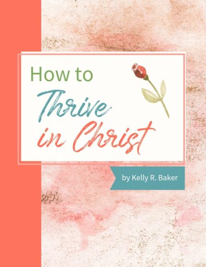This 27-page eBook tells you how not just to survive, but thrive in your walk with God. It lays out the keys to unlock the victory that's yours. I provide practical steps on how you can stay spiritually strong and healthy and how to tap into your daily portion from God. #ThrivingInChrist #spiritualgrowth #walkingwithGod #GodTime #freedom #freedominchrist