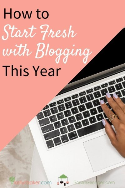 Here are four ways you can make a fresh start with blogging to improve your writing, expand your ministry and bring God more glory. #BloggerVoicesNetwork #Blogging #writing #bloggers #network #collaboration #encouragement #tips #Christian #ThrivingInChrist #ministry